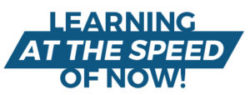Learning at the speed of now tagline